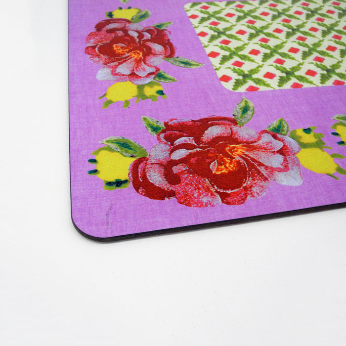 Rectangle Placemat, lilac