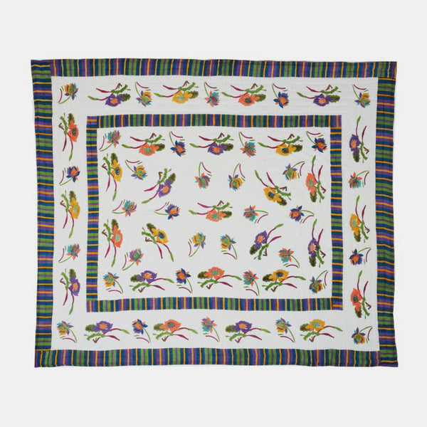 Queen Quilt, japanese white