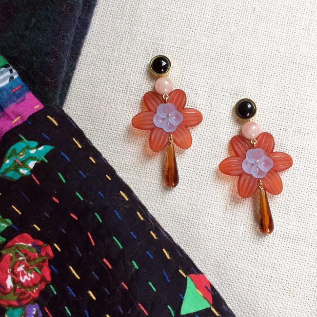 Sal Flower Earrings