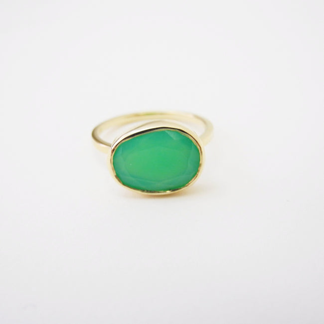 Chrysoprase Ring, Ring, Liz Phillips, Collyer's Mansion - Collyer's Mansion