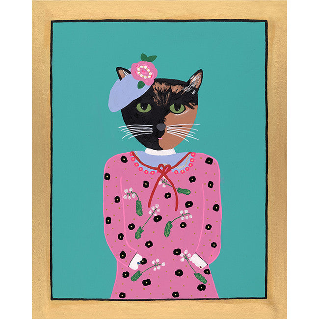 Lady Adelaide from the Royal Pet Portrait Print Series