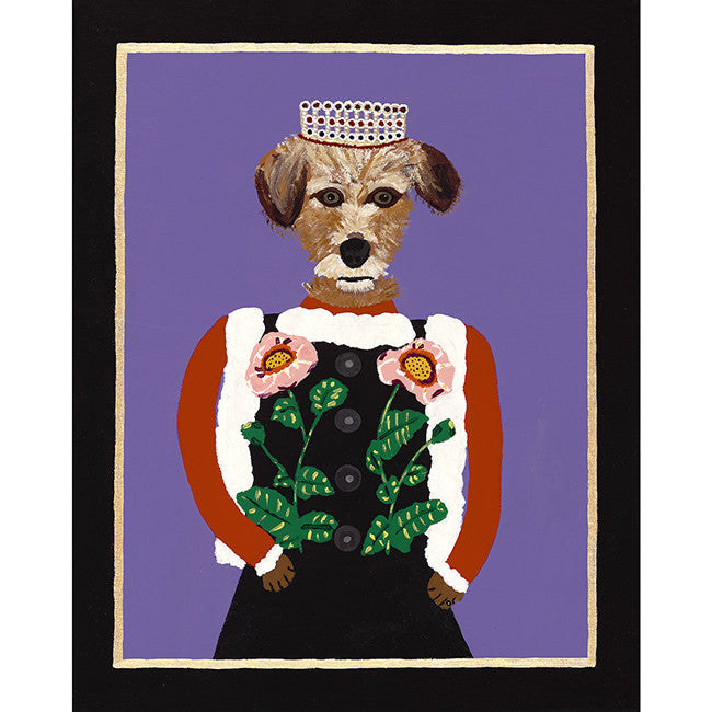 Lady Maggie from the Royal Pet Portrait Print Series, Art, Collyer's Mansion Collection, Collyer's Mansion - Collyer's Mansion
