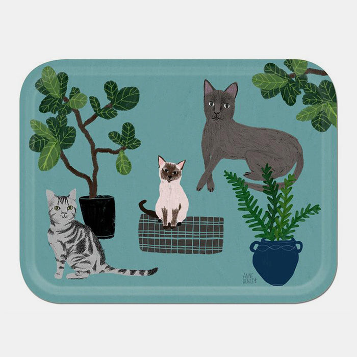 Cats Tray, large
