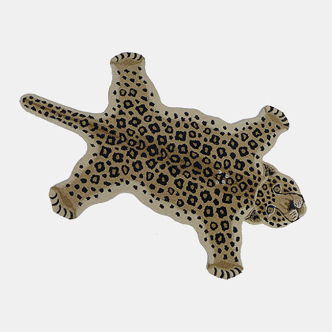 Loopy Leopard Rug