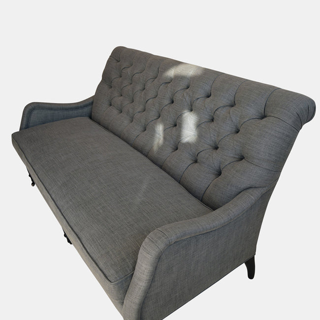 Pierre Apartment Sofa in Farrow Metal