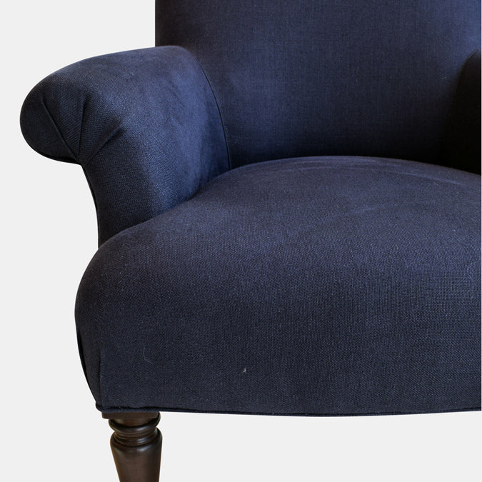 Theo Chair in Stonewash Belize Navy