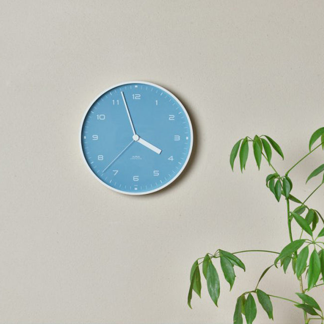 Aira Light Blue Clock