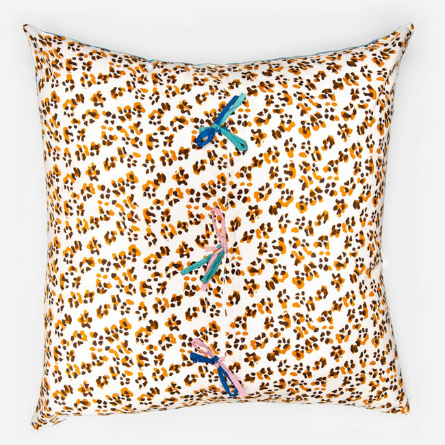 Leopard Green Pillow