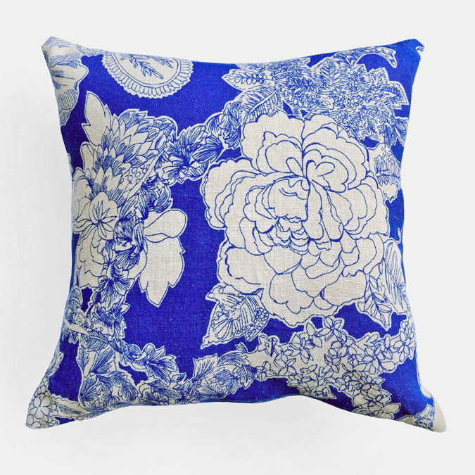 Liberty Zennor Lapis Pillow, square