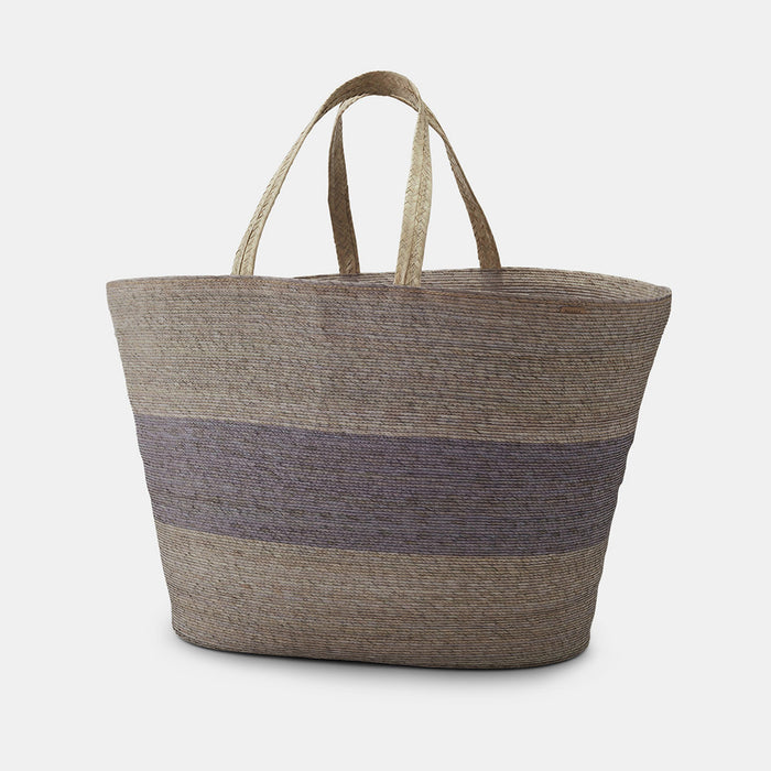 Carry Basket, light grey stripe