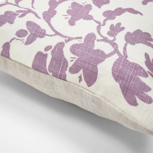 Lilac Vine Pillow, lumbar