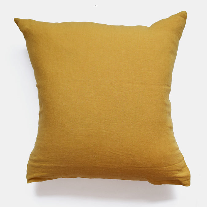 Linen Euro Pillowcase, honey