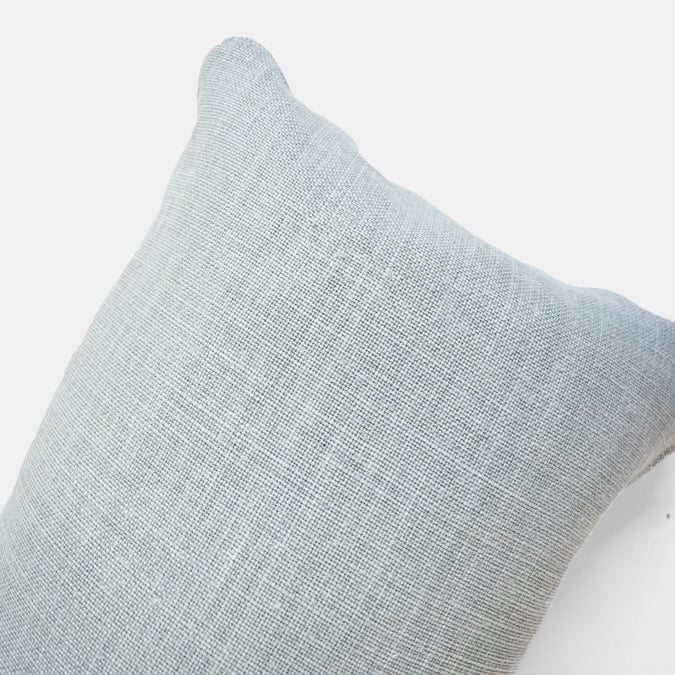 Old Mint Belgian Linen Pillow, lumbar
