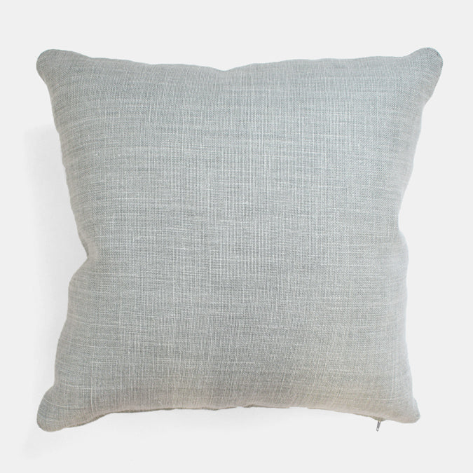 Old Mint Belgian Linen Pillow, square