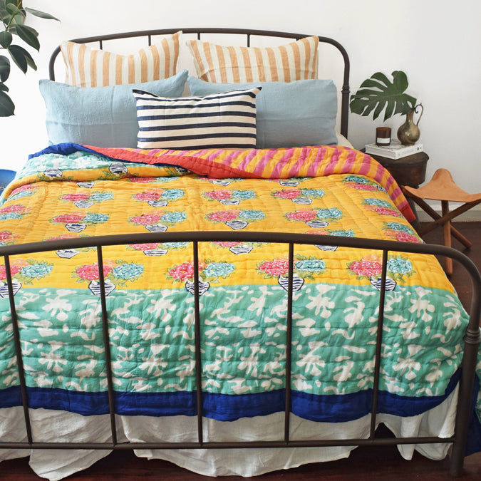 Matisse Pot Veronese Quilt, full/queen