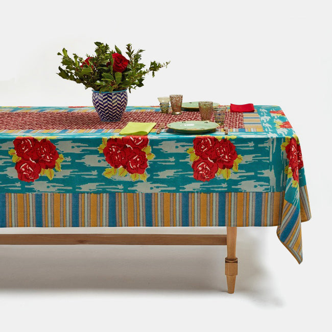 Paradise Garden Peacock Tablecloth