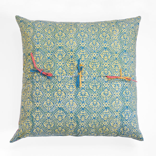 Chinese Spring Mustard Pillow, Pillow, Lisa Corti, Collyer's Mansion - Collyer's Mansion
