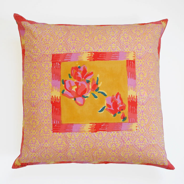 Chinese Spring Mustard Pillow
