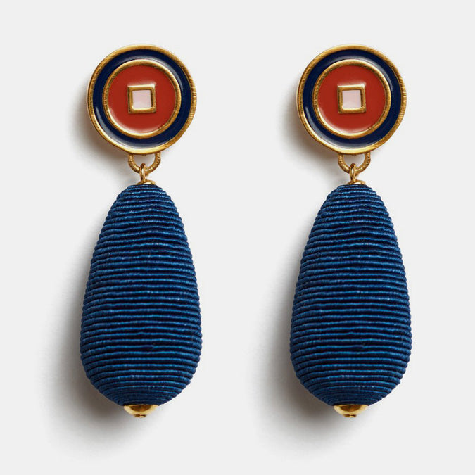 Lizzie Fortunato Statement Earrings for colorful jewelry at Collyer's Mansion