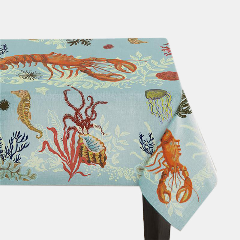 Lobster Tablecloth, Tablecloth, Avenida Home, Collyer's Mansion - Collyer's Mansion