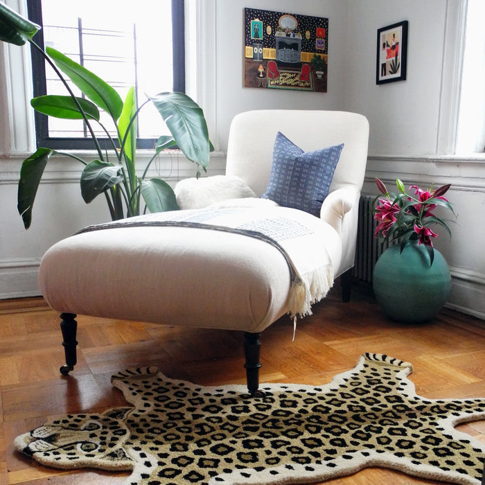 Large Loopy Leopard Rug