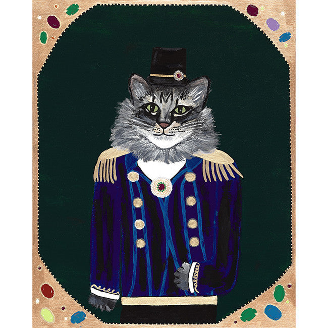 Lord Emmett from the Royal Pet Portrait Print Series