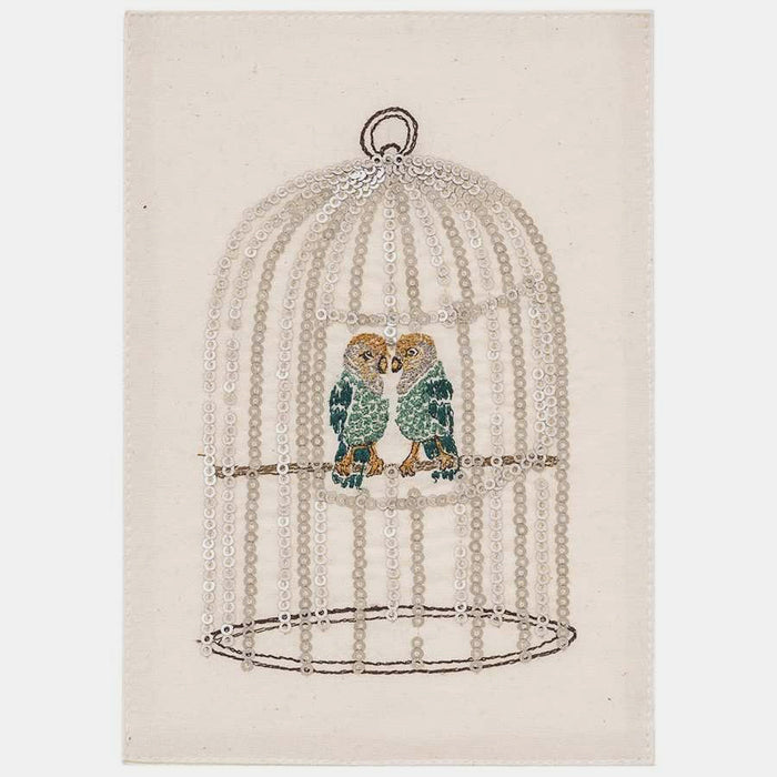 Love Birds Card, Card, Coral & Tusk, Collyer's Mansion - Collyer's Mansion