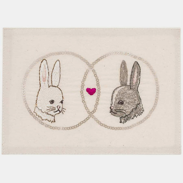 Love Bunnies Stationery, Card, Coral & Tusk, Collyer's Mansion - Collyer's Mansion