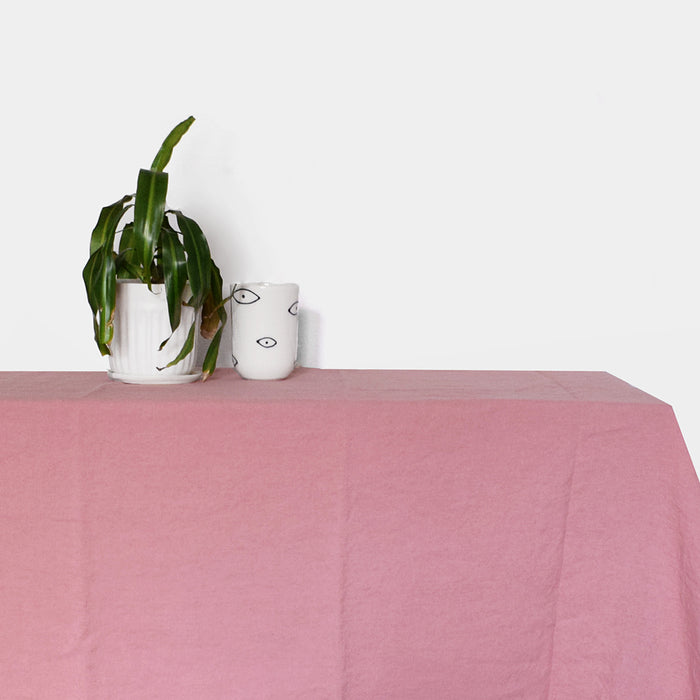 Linen Tablecloth, lychee