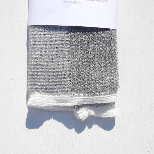 Charcoal Scrub Towel, Personal Care, Morihata, Collyer's Mansion - Collyer's Mansion