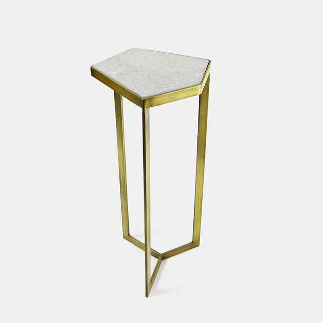 Marble Top Side Table, small
