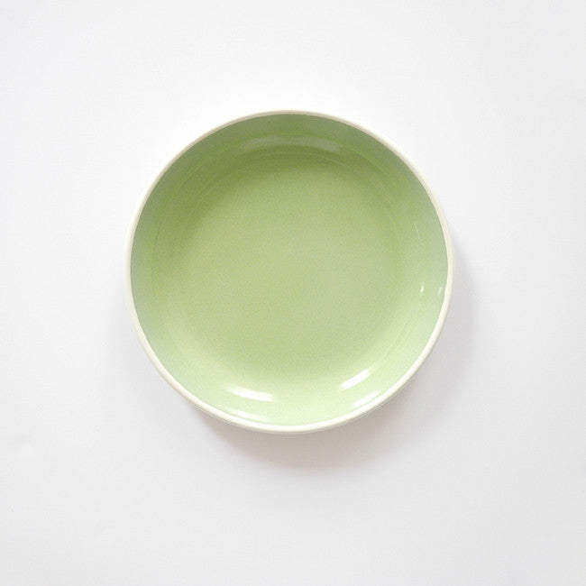 Mint Enamel Plate, medium