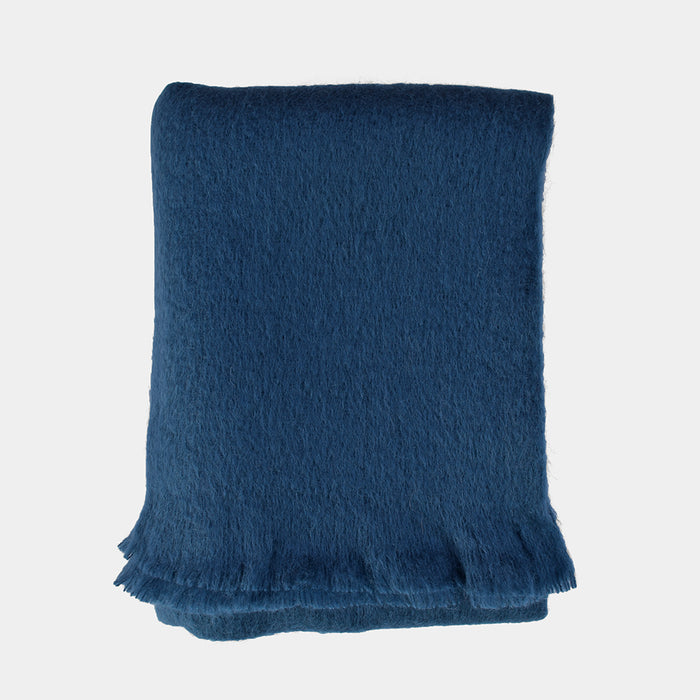 Jade Mohair Throw