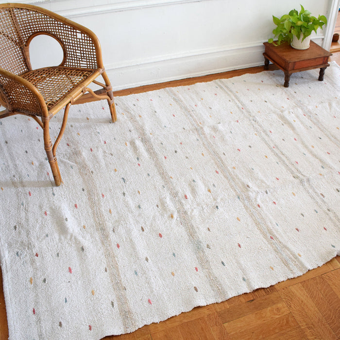 "Light Multi Vintage Kilim, 5'6"" x 8'6"""