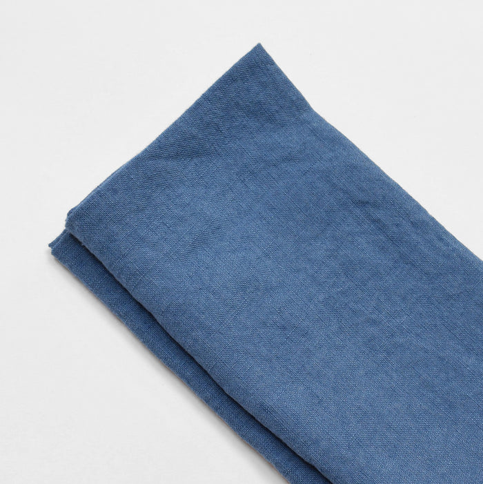 Linen Napkin, atlantic blue