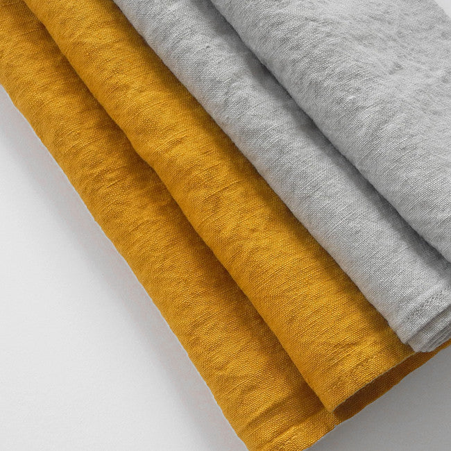 Linen Napkin, cloud grey, Napkin, Linge Particulier, Collyer's Mansion - Collyer's Mansion