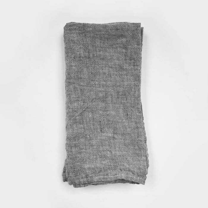 Linen Napkin, grey chambray, Napkin, Linge Particulier, Collyer's Mansion - Collyer's Mansion