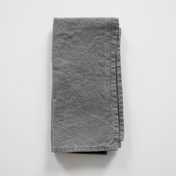 Linen Napkin, real grey, Napkin, Linge Particulier, Collyer's Mansion - Collyer's Mansion