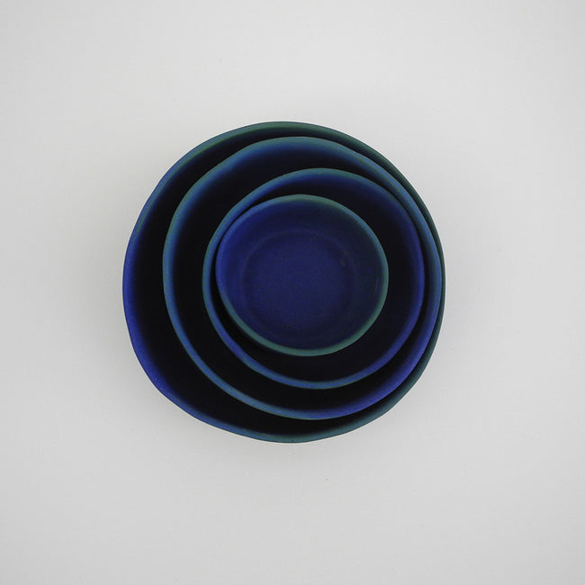 Cobalt Nesting Bowls, Bowl, Judy Jackson, Collyer's Mansion - Collyer's Mansion