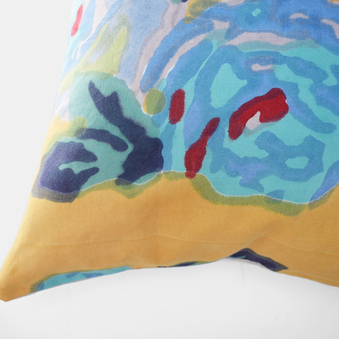 Nizam Mustard Pillow, square