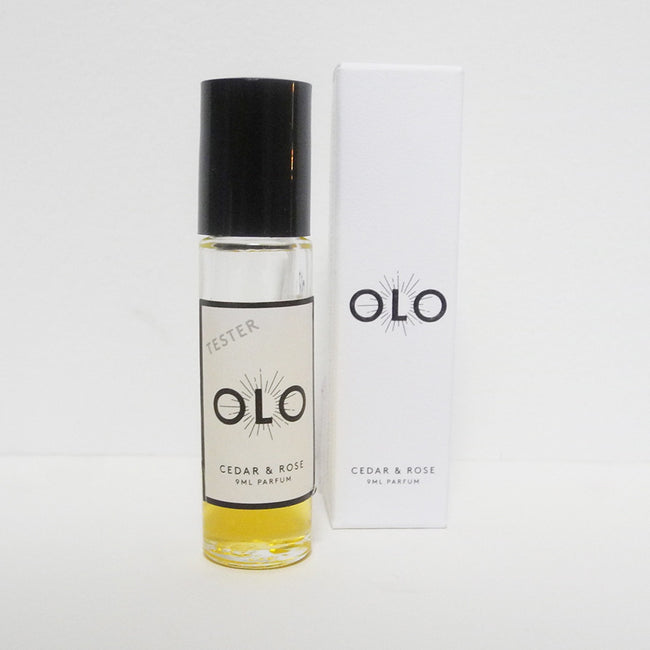 Cedar and Rose Parfume, Fragrance, Olo, Collyer's Mansion - Collyer's Mansion