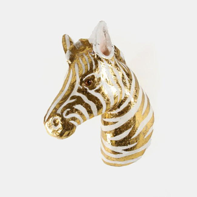 Gold Zebra Wall Mount