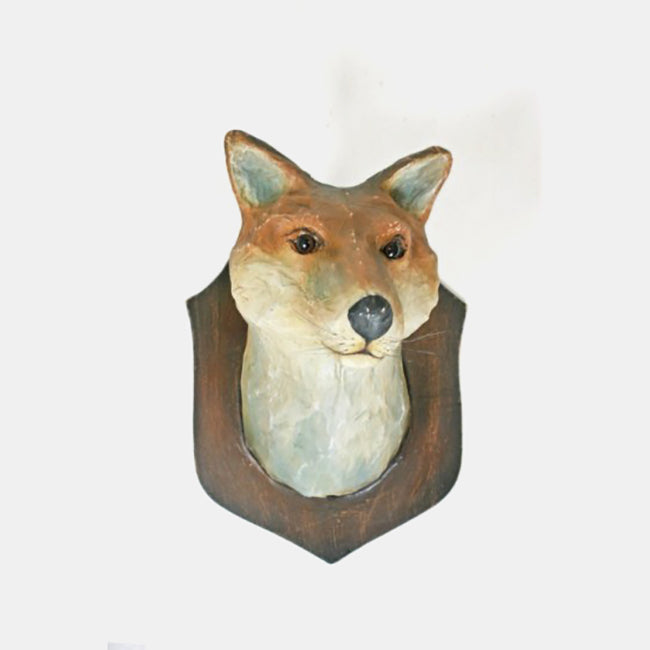 Fox Wall Mount, Novelty, Cody Foster & Co., Collyer's Mansion - Collyer's Mansion