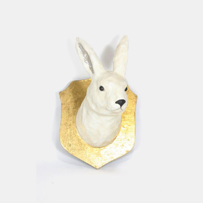 Artic Hare Wall Mount, Novelty, Cody Foster & Co., Collyer's Mansion - Collyer's Mansion