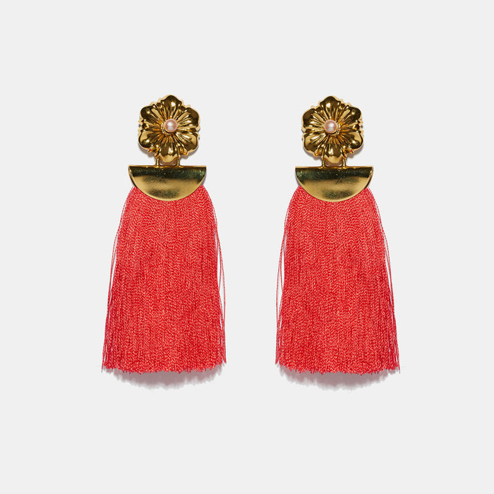 Poppy Fringe Earrings