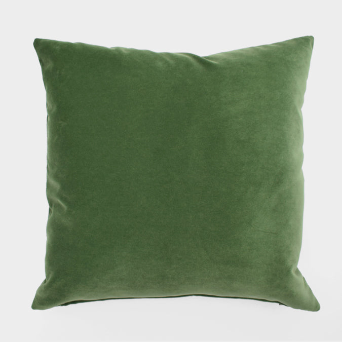 Winthrop Clover Velvet Pillow, square