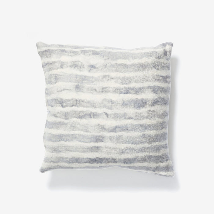 Grey Painted Stripe Pillow, Pillow, MINNA, Collyer's Mansion - Collyer's Mansion