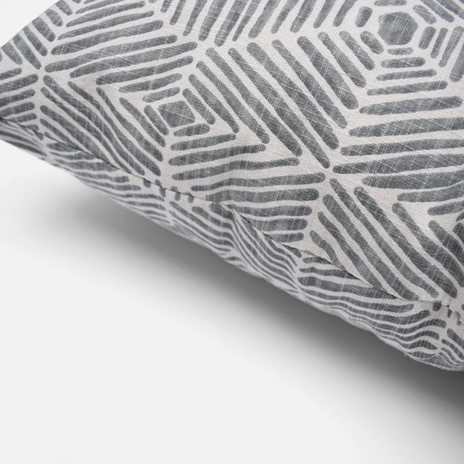 Stonegate Grey Pillow, square