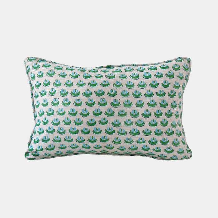 Cadiz Emerald Pillow, Lumbar