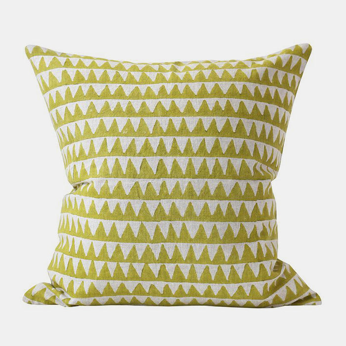 Pyramids Pista Pillow, square